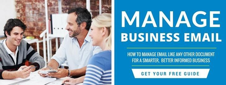 Download the Smart Guide to Managing Business Email