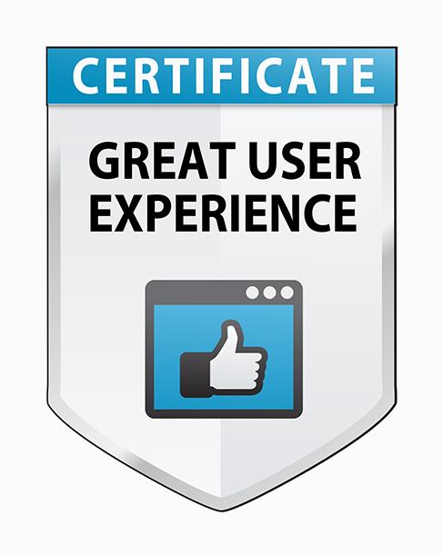 fileplan Great User Experience certificate
